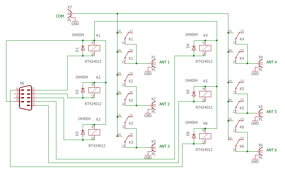 Relay box schematic
